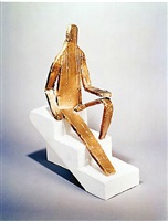 "untitled (maquette for 5'8"" figure) by bruce nauman"