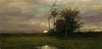 rising moon by dennis sheehan