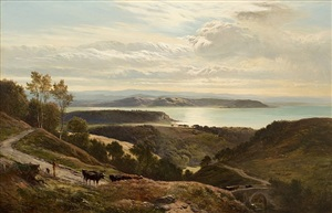 grange over sands, cumbria by sidney richard percy
