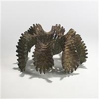 rare cast bronze by ruth asawa