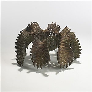 rare cast bronze by ruth asawa