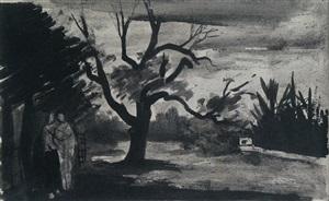 woodland scene no. 1 by william scott