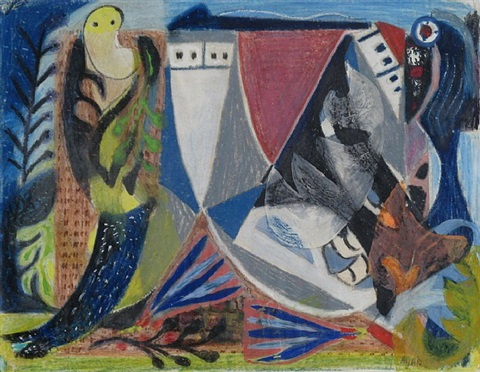spanish shoes by eileen agar