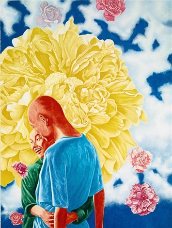 untitled from the giants of contemporary chinese art portfolio by fang lijun
