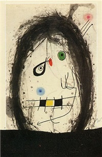 the black exile by joan miró