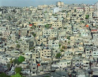 view from citadel (jabal al qal'a) amman, jordan by robert polidori