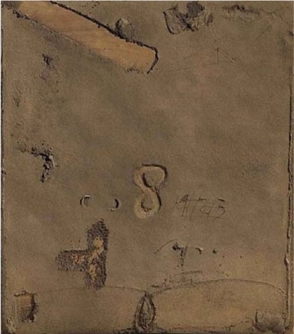 terrós (muddy) by antoni tàpies