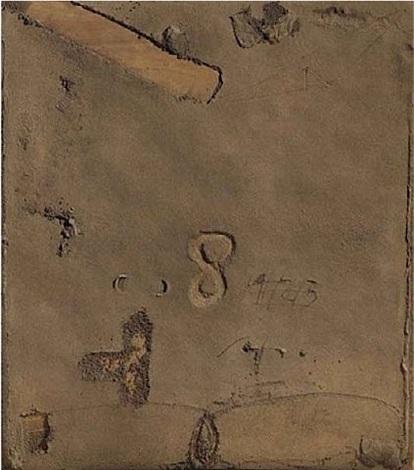 terrós (muddy) by antoni tàpies