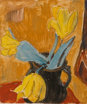 tulpen by erich heckel