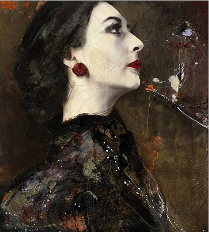 callas strong woman by lita cabellut
