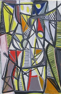 wc645, abstract composition by caziel