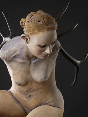 crouch (detail) by susannah zucker