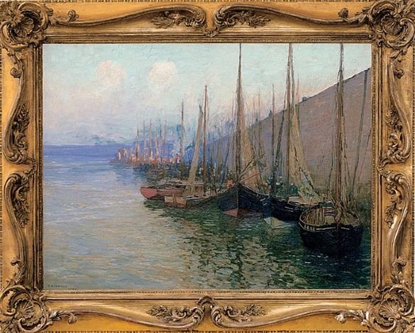 in port by edward willis redfield