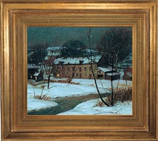 spring valley mill by george william sotter