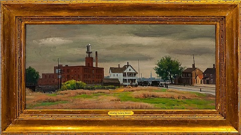 gray day, new england by harry leith-ross