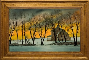 golden morning by peter sculthorpe
