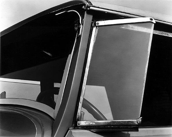truck window by brett weston