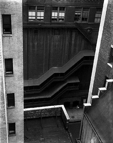 forty-seventh street, 1945 by brett weston