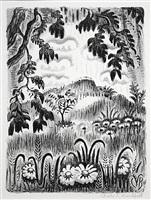 summer benediction by charles ephraim burchfield