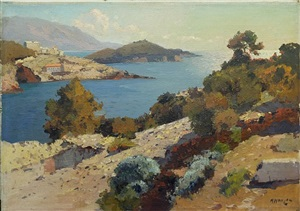 bay, dubrovnik by alexei vasilievitch hanzen