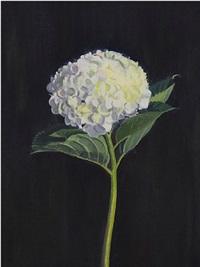 garden flower by ron milewicz