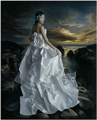 paper bride- strolling along cythera by zeng chuanxing
