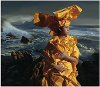 paper bride- listening to the sea by zeng chuanxing