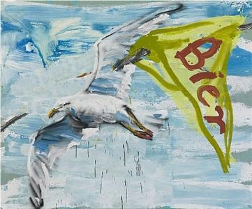 painting water by dieter krieg
