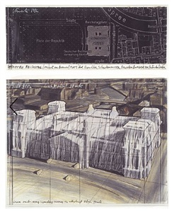 wrapped reichstag by christo and jeanne-claude