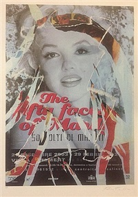 a tribute to marilyn by mimmo rotella