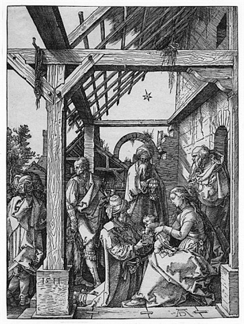 the adoration of the magi by albrecht dürer
