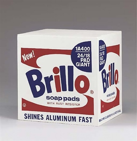 brillo box - stockholm type by andy warhol