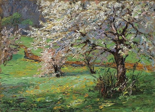 blühende bäume by olga wisinger-florian