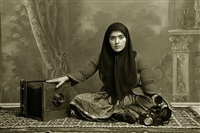 untitled 19 from qajar series by shadi ghadirian