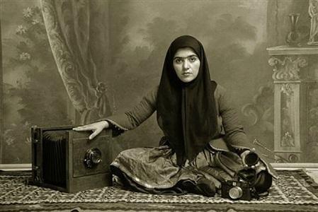 untitled 19 from qajar series by shadi ghadirian