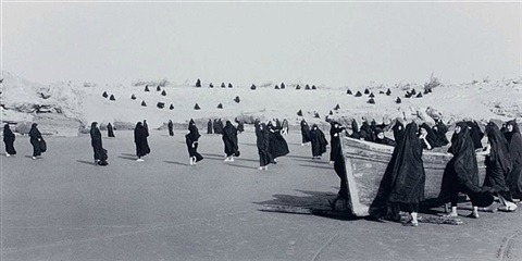 untitled from the 'rapture' series by shirin neshat