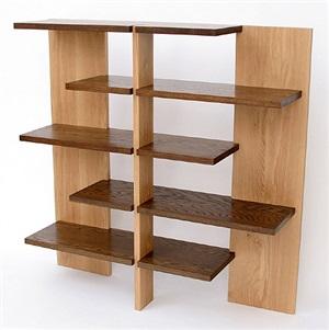 bookshelf, designed 1923 by josef albers