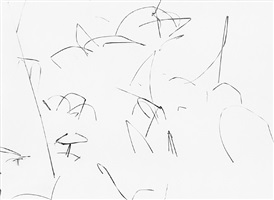 weeds in snow, detroit by harry callahan