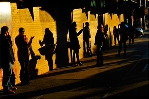 untitled (under the high line, new york city) by leroy henderson