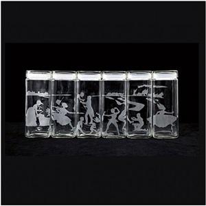 untitled (canisters), designed 1997 by kara walker