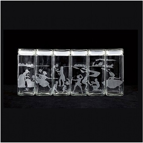 untitled (canisters), designed 1997 by kara walker