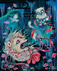 a ghost is born by camille rose garcia