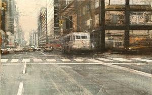 traffic in manhattan by pedro rodríguez garrido