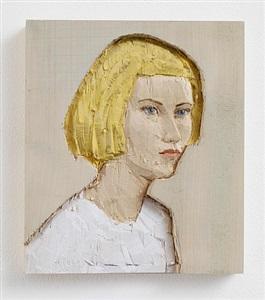 woman (relief) by stephan balkenhol
