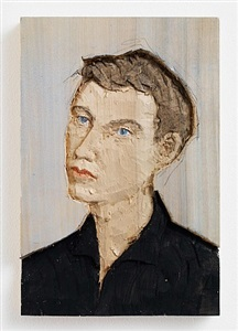man (relief) by stephan balkenhol
