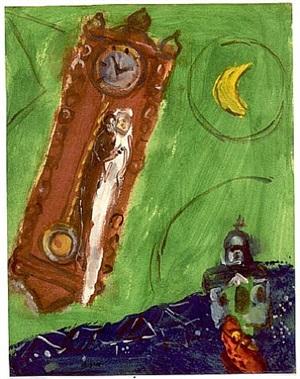 l'horloge à vitebsk by marc chagall