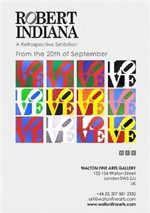 robert indiana: a retrospective exhibition