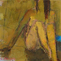 yellow nude by cynthia packard