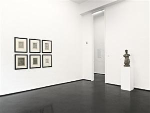 installation view / installationsansicht von wilhelm lehmbruck – scupltures and etchings / skulpturen und radierungen by wilhelm lehmbruck