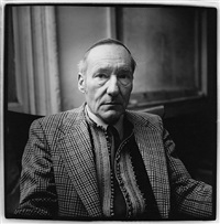 william burroughs (iv) by peter hujar